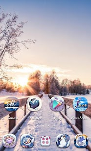 Winter GO Launcher Theme- screenshot