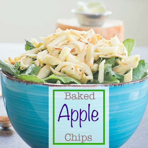 Apple Chips (Oven-baked)