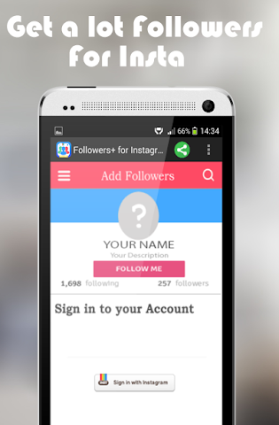android Abonnés pour Instagram Prank Screenshot 7