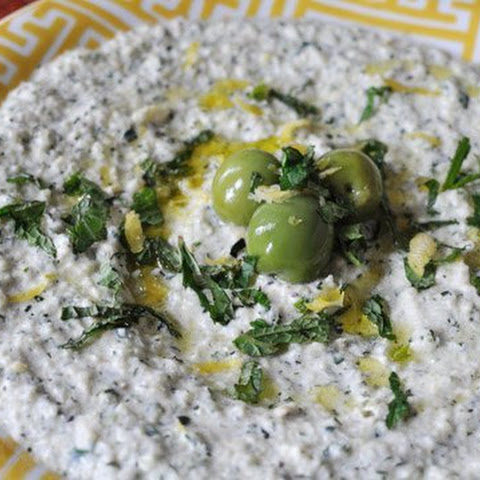 Zucchini, Mint and Yogurt Spread