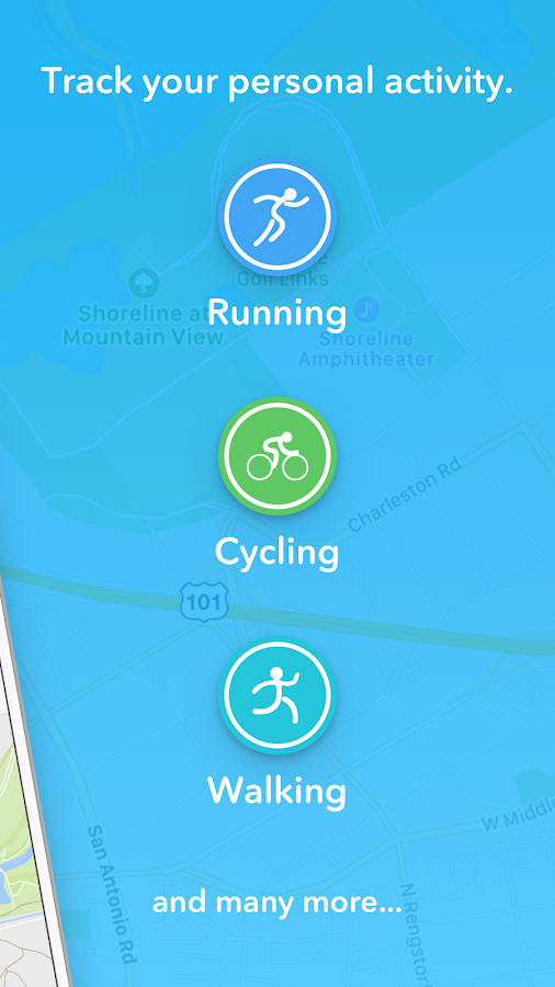 FITAPP Running Walking Fitness Screenshot 1