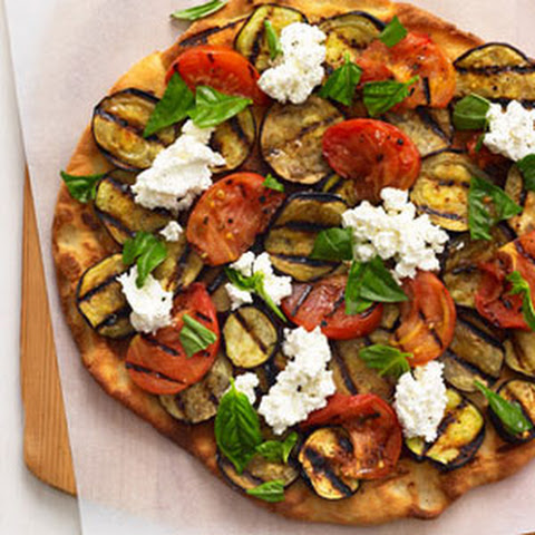 Pizza With Ricotta And Eggplant Recipes | Yummly