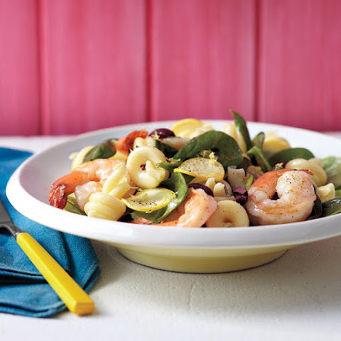 Summer Pasta Salad with Shrimp