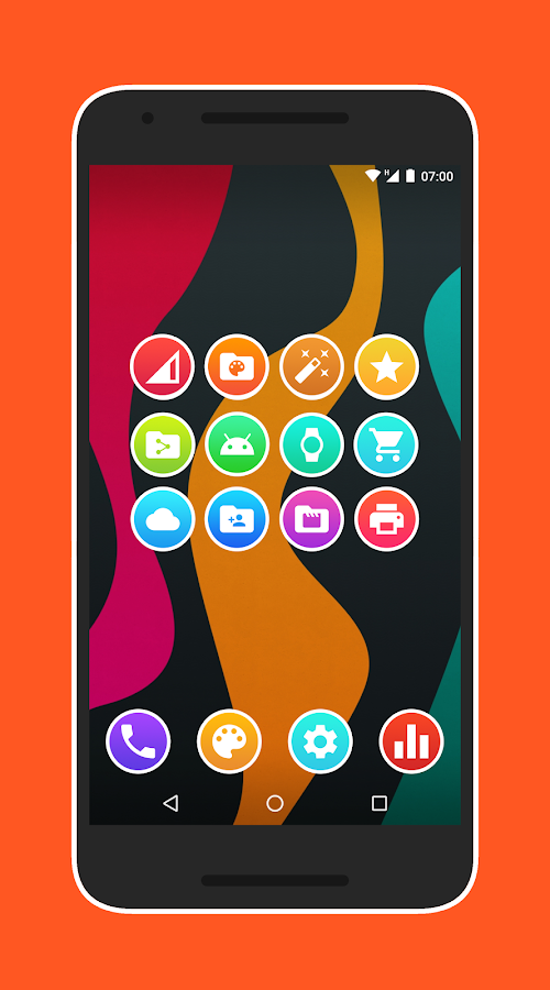Lux Light - Icon Pack Screenshot 3