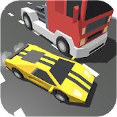 Download Bloky Traffic Rider Racer 3D APK to PC