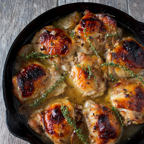 Maple Ginger Chicken Thighs