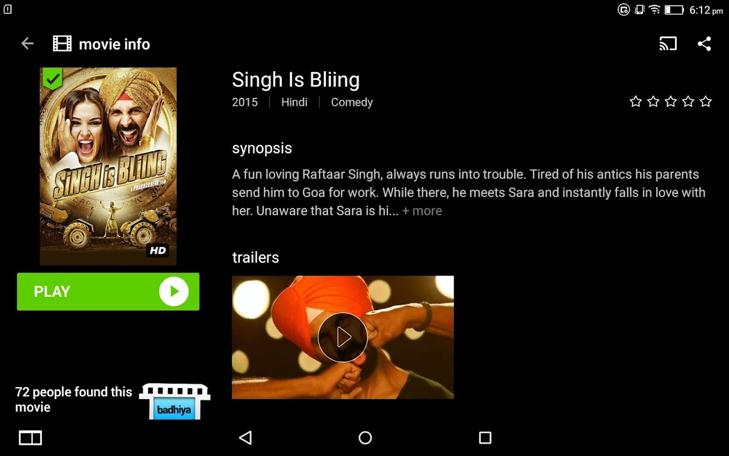 Hungama Play Online Movies App Screenshot 18