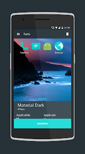 Material Dark CM13/CM12.1- screenshot thumbnail