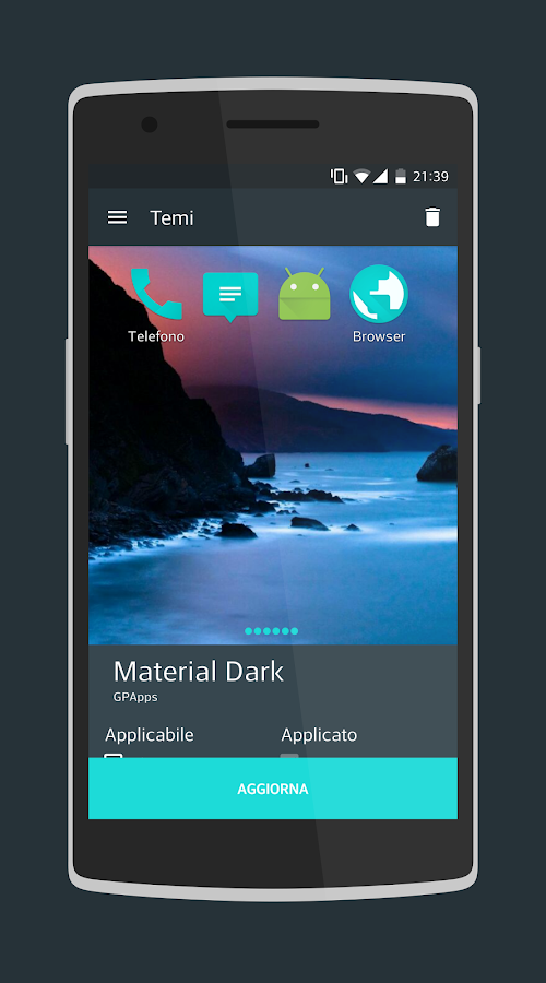 Material Dark CM13/CM12.1 Screenshot 6