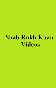 Shah Rukh Khan Videos - screenshot