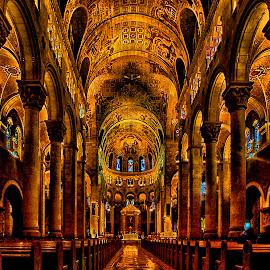 Sainte-Anne-de-Beaupré Shrine,Canada by Stanley P. - Buildings & Architecture Places of Worship ( shrine, architecture, worship )