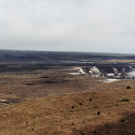 Crater Bellows  by Dianne Stewart - Landscapes Caves & Formations ( smole, thunder, awe, lava, shock )