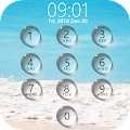 Lock screen droplets water APK for Bluestacks