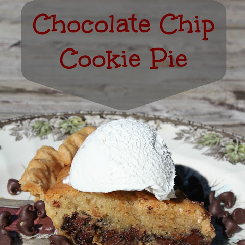 Chocolate Chip Cookie Pie
