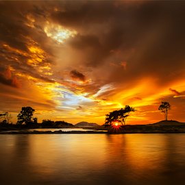 Ujung Sore by Dany Fachry - Landscapes Sunsets & Sunrises