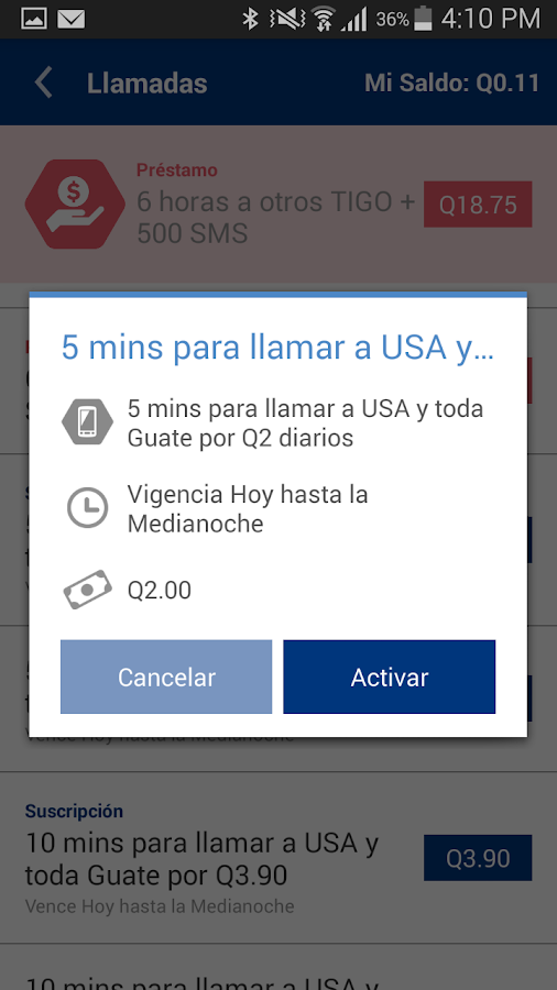 Tigo Shop Screenshot 12