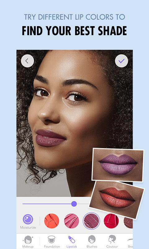 MakeupPlus - Makeup Editor Screenshot 1