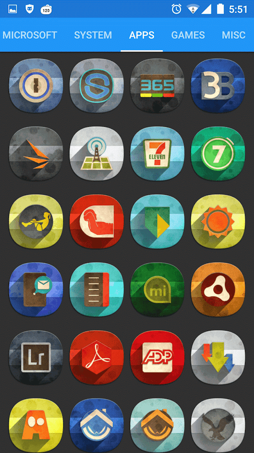 Classic Material Icon Pack Screenshot 9