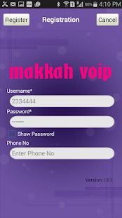 MakkahVoip - screenshot