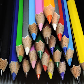 Pencils by Kambala Rajesh - Artistic Objects Education Objects