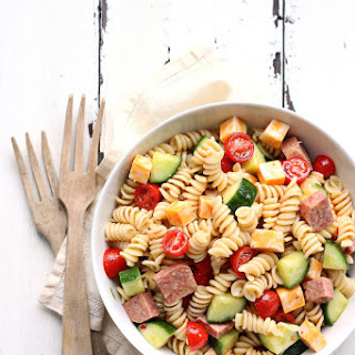 Spiral Pasta Salad With Italian Dressing Recipes
