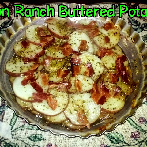Bacon Ranch Buttered Potatoes