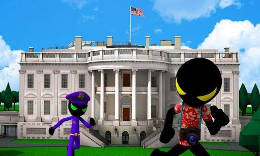 Stickman White House Escape Unlimited money