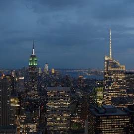 Top of the Rock by Benny Lu - City,  Street & Park  Skylines