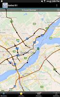 Screenshot of Québec 511