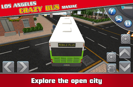 Los Angeles Crazy Bus Maniac APK