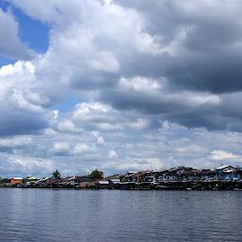 Sekura River by Mulawardi Sutanto - Landscapes Waterscapes ( sambas, kalimantan, sekura, river, travel, indonesia )