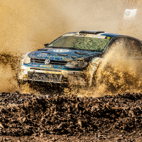 Splash05 by Johan Niemand - Sports & Fitness Motorsports ( water, car, rally, mud, splash, race )