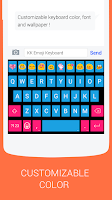 Screenshot of Emoji Keyboard - Emoticons(KK)