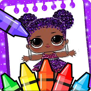 Coloring Pages for Surprise Dolls Released on Android - PC / Windows & MAC