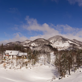 Winter idyll by Kevin Lozar - Landscapes Mountains & Hills ( winter, snow, landscape, nikon )