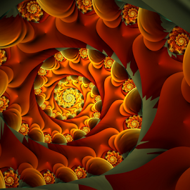 Spiral 14 by Cassy 67 - Illustration Abstract & Patterns ( wormhole, abstract art, swirl, digital art, spiral, fractal, digital, fractals )