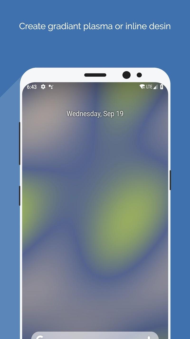 Wallpaper Maker - Best Plasma Gradiant background Screenshot 4