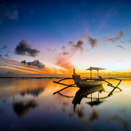 .:: happy dawn ::. by Setyawan B. Prasodjo - Transportation Boats