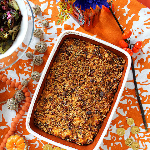 31. SWEET POTATO BOURBON NOODLE KUGEL