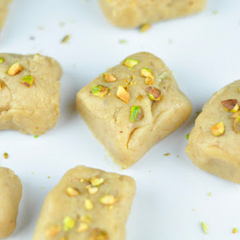 WALNUT FUDGE (BURFI) WITH CONDENSED MILK