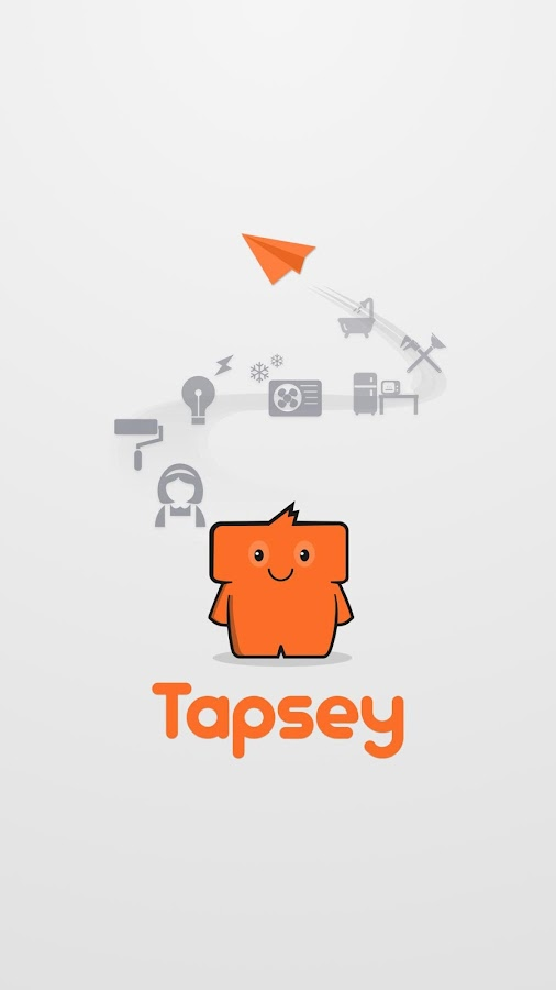 Tapsey - On Demand Service App Screenshot 0