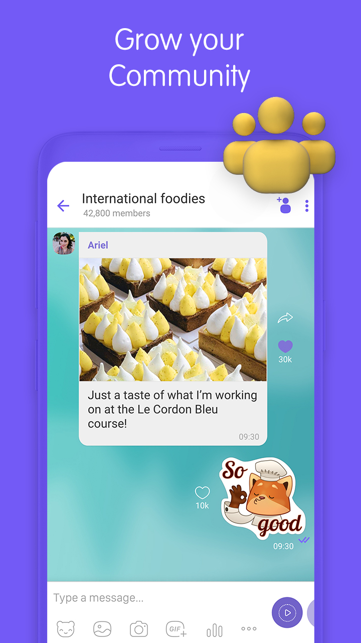 Viber Messenger Screenshot 3