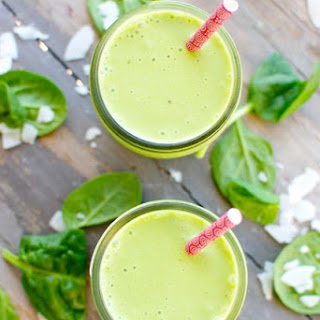 Tropical Spinach Smoothie