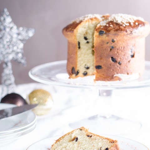 Panettone With Dried Cherries And Blueberries