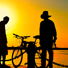 fishing | men by Jirell Delos Santos - People Portraits of Men