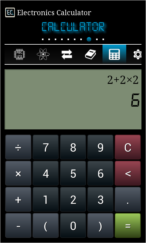 Electronics Calculator Pro Screenshot 7