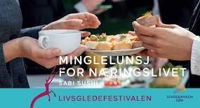 Minglelunsj for Næringslivet – Sabi Sushi
