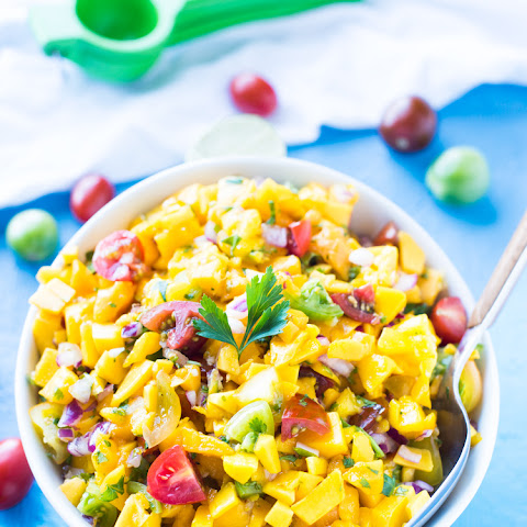 BRAZILIAN FLAIR MANGO SALSA
