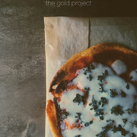 Polenta Pizza & Pomegranate Molasses