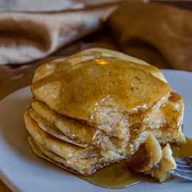 Let's Eat Pancakes by Dave Clark - Food & Drink Plated Food ( food, pancakes, eat )